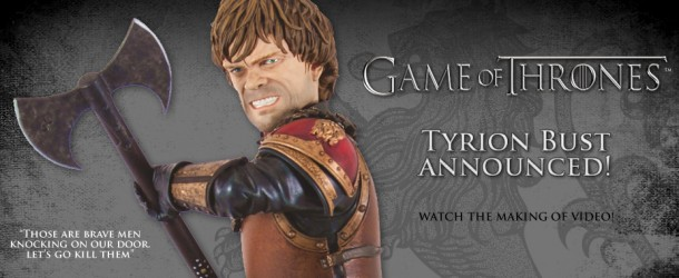 Dark Horse Officially Unveils Tyrion Lannister Statue!