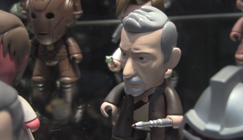 "Doctor Who Vinyl Figures from ""Titan Merchandise"" at NY Toy Fair 2014"
