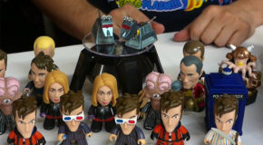 """Doctor Who: Gallifrey Collection"" 10th Doctor Titans Vinyl unboxing & Review"